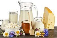 молочные кисломолочные продукты